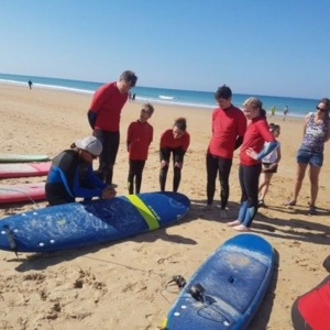 Clases de surf familiar curso de surf conil el palmar