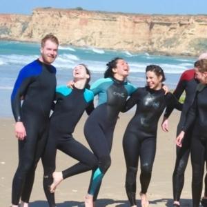 Alquiler de Traje de Surf Conil el palmar cadiz